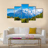 Black dragon Pool, Lijiang, Yunnan, China, Jade Dragon Snow Mountain Multi panel canvas wall art