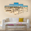 Ancient ruins at Bahrain Fort Multi panel canvas wall art