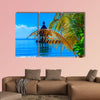 Dreamscape Escape on Maldives Multi panel canvas wall art