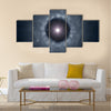 black hole background Multi Panel Canvas Wall Art