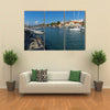 Port And Panorama To Town Of Alexandroupoli, East Macedonia, Greece, Multi Panel Canvas Wall Art