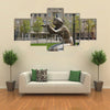Fountain at Lazar Serebryakov embankment in Novorossiysk, Krasnodar region, Russia Multi Panel Canvas Wall Art