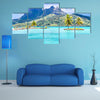 The Bora Island, French Polynesia, France Multi Panel Canvas Wall Art