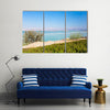 The Dead Sea Coastline At Sunset Is Making The Scene Amazing, Multi Panel Canvas Wall Art