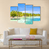 Belize, a tropical paradise in Central America Multi panel canvas wall art
