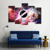 Orbit Surrounding Black Hole Multi Panel Canvas Wall Art