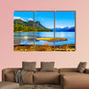 Pitt Lake with the Snow Capped Peaks of the Golden Ears, Tingle Peak wall art