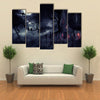 When The Halloween Is On The Go Multi Panel Canvas Wall Art