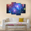 When Planets Revolve In Their Destined Path Multi Panel Canvas Wall Art