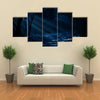 Forest Under The Moonlight Multi Panel Canvas Wall Art