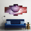 When Stars Dust And Nebula Makes A Combo In Far Galaxy Multi Panel Canvas Wall Art