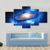 A Super Massive Galaxy In Outer Space Multi Panel Canvas Wall Art