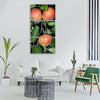 apple apple tree branch leaves Vertical Canvas Wall Art