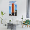 Atlantis space shuttle space Vertical Canvas Wall Art