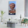 balloon balloons ballooning sky Vertical Canvas Wall Art