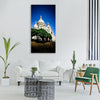 basilica sacred heart paris france Vertical Canvas Wall Art