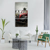 car old classic cars retro Vertical Canvas Wall Art