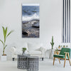 cliffs stones coastal archipelago Vertical Canvas Wall Art