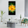 floral flor flower decoration Vertical Canvas Wall Art