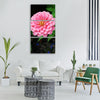 flower nature plant garden summer Vertical Canvas Wall Art