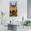 france building architecture spires Vertical Canvas Wall Art