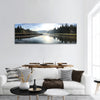 Hume Lake Sunrise Running Panoramic Canvas Wall Art