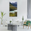in yunnan province blue moon bay Vertical Canvas Wall Art