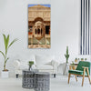 jaisalmer house building india Vertical Canvas Wall Art