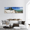 Key Biscayne Beach Nature Sea Panoramic Canvas Wall Art