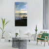 landscape nature waters panorama Vertical Canvas Wall Art