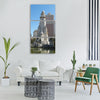 Madrid spain monument space statue Vertical Canvas Wall Art