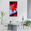 maple leaves leaves autumn Vertical Canvas Wall Art