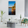 merseburg gotthard pond water Vertical Canvas Wall Art