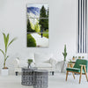 more destination view viewpoint Vertical Canvas Wall Art