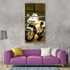 Most beautiful motorcycle honda Vertical Canvas Wall Art