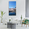 mt fuji blue sky mountain Vertical Canvas Wall Art