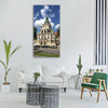 museum munich building sun summer Vertical Canvas Wall Art