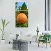 orange naranjo tree Vertical Canvas Wall Art