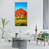 park garden tree foliage fall Vertical Canvas Wall Art
