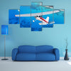 Flying Sky High Over The Ocean Multi Panel Canvas Wall Art Set