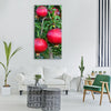 pomegranate pomegranate tree fruits Vertical Canvas Wall Art