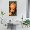 pumpkins fall autumn orange Vertical Canvas Wall Art