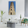 ravenna campanile torre Vertical Canvas Wall Art