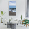 rügen summer baltic sea beach sand Vertical Canvas Wall Art