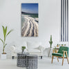 sea dead sea dead salt water sky Vertical Canvas Wall Art