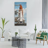 space shuttle endeavour shuttle Vertical Canvas Wall Art