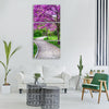spring beautiful wallpaper tree Vertical Canvas Wall Art