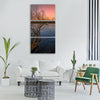 sunset sunrise freedom landscape Vertical Canvas Wall Art