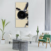 telescope view optics binoculars Vertical Canvas Wall Art