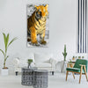 tiger tiger cub big cat Vertical Canvas Wall Art